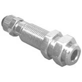 Ответная часть быстросъемного соединения 1/4 с клапаном
